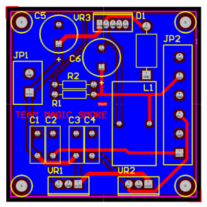 Power Supply UPS Circuit Board Clone