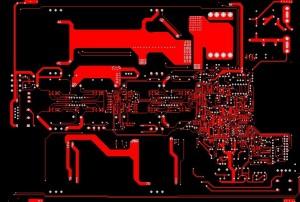 Printed circuit board wiring diagram