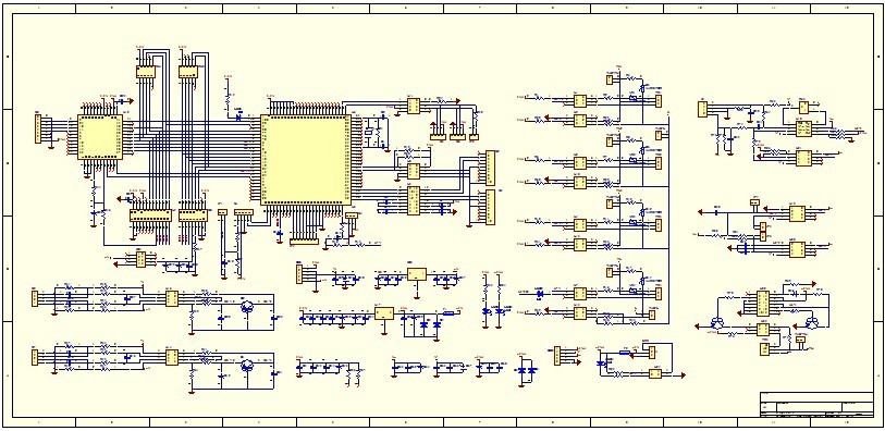Wondrous Multilayer Pcb Board Layout Schematic Pcb Reverse Engineering Pcb Wiring Cloud Brecesaoduqqnet
