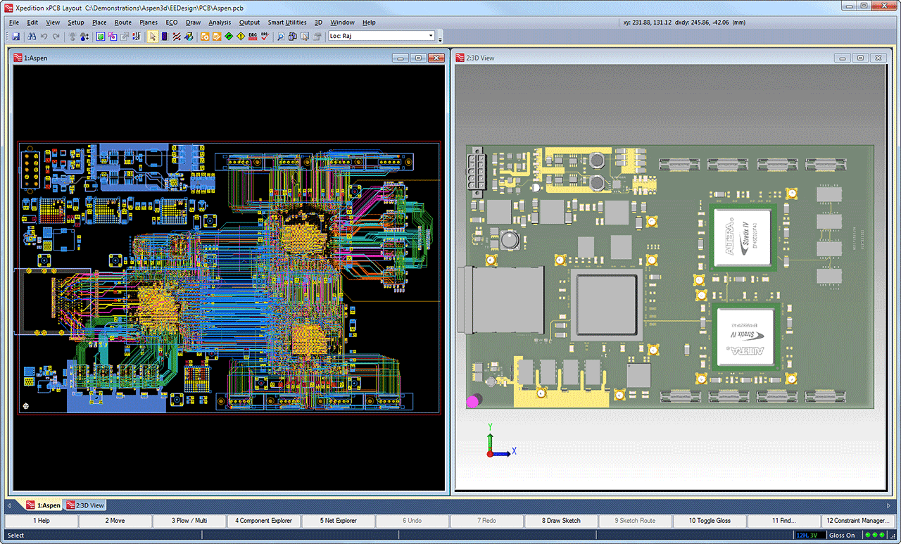 PCB Board Copying Direct Current - PCB Reverse Engineering, PCB ...